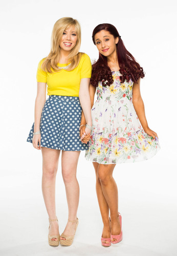 Nickelodeon's Dynamic Duo, Jennette McCurdy And Ariana Grande, Stars In Brand-New Spin-Off, Sam &