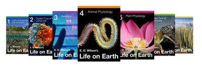 E.O. Wilson's Life on Earth iBook Textbook Series (PRNewsFoto/E.O. Wilson Biodiversity Foundat)