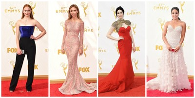 Sophie Turner, Giuliana Rancic, Laura Prepon, and Gina Rodriguez Shine in Forevermark Diamonds at the 67th Annual Emmy Awards