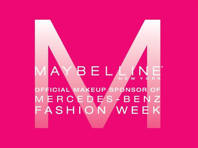 Maybelline New York Announces Lineup for Mercedes-Benz Fashion Week in New York Spring 2013.  (PRNewsFoto/Maybelline New York)
