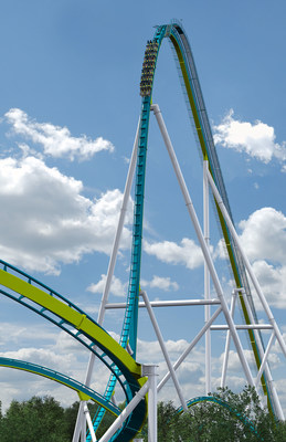 Carowinds announces Fury 325 the world's tallest, fastest giga coaster.