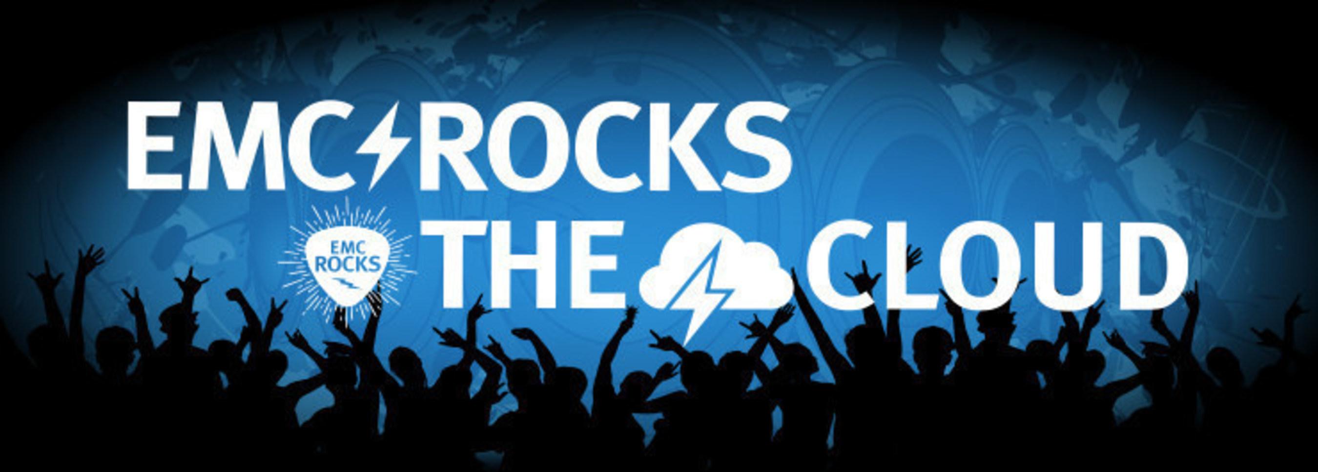 EMC Rocks The Cloud