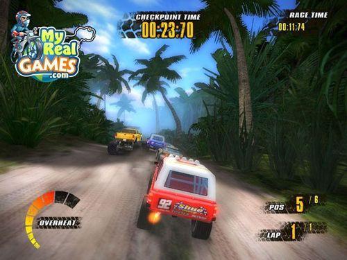Offroad Racers screen – Free PC game at MyRealGames.com (PRNewsFoto/MyRealGames.com)