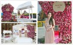 "Photos 1 & 2: MAYSU spokesperson Shu Qi inaugurated the world premiere of Rose Honey Nutrition Moisturizing Intensive Serum Dew at the China Pavilion, Expo Milano. Photo 3: The ""rose & honey"" experience zone inspired by the MAYSU Oriental Garden providing consumers with an inspiring experience that stimulates all of the senses."