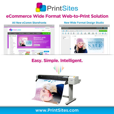 PrintSites - Finally an Intelligent Web-to-Print eCommerce Solution made Easy! Provide your customers what they are asking for - A Meaningful & Relevant Customer Buying Experience. From designing business cards, banners, brochures, holiday cards, stickers and postcards to print realization, PrintSites' keeps it simple for you and your customers. Learn How @ PrintSites.com