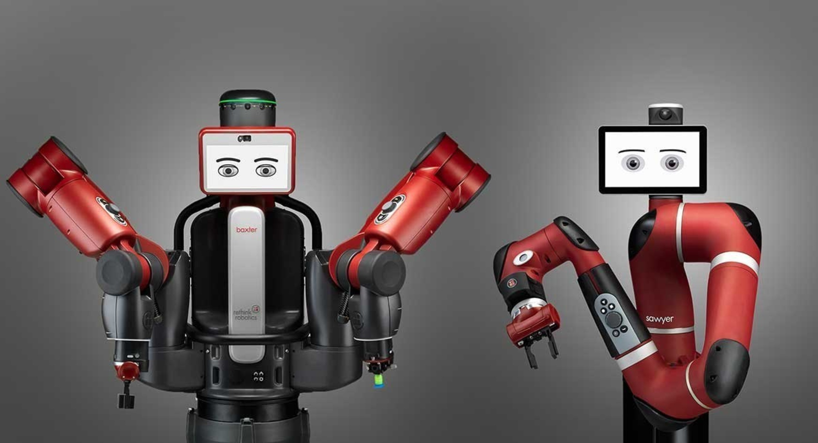 Rethink Robotics' Baxter and Sawyer robots