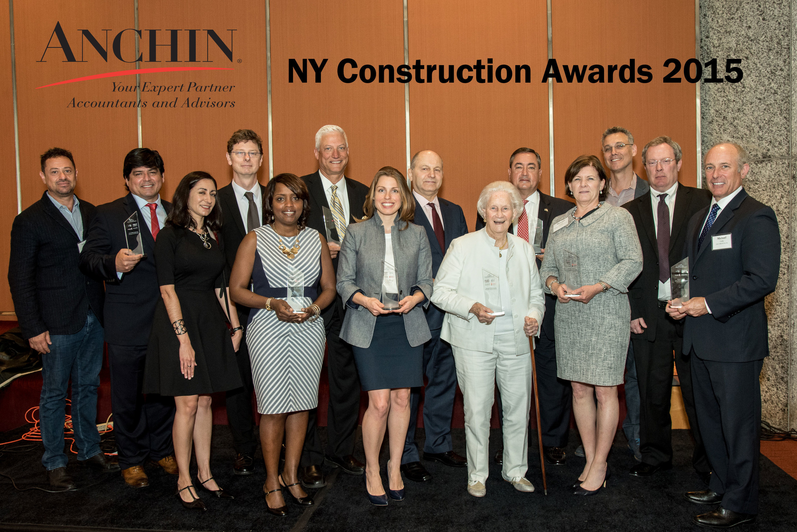 Anchin Block & Anchin 2015 New York Construction Awards - Winners Photo