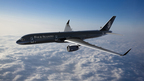 Four Seasons Soars to New Heights with Hotel Industry's First Fully Branded Jet (PRNewsFoto/Four Seasons Hotels and Resorts)