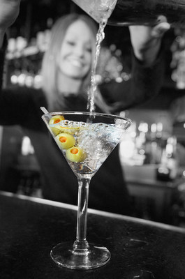 Bar Louie Signature Martini - The Dirty (PRNewsFoto/Bar Louie)