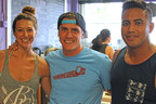 Abby Taylor, Robert Giuliani and Desi Saran are the partners behind Playa Bowls.