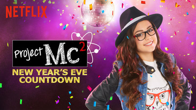 Project Mc2 - one of the six on demand New Year's Eve countdowns exclusively on Netflix