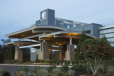 Wind Creek Casino & Hotel Montgomery Front Entrance.