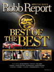 Robb Report Editors Select Luxury World's Most Exceptional New Products, Services In 25th Annual