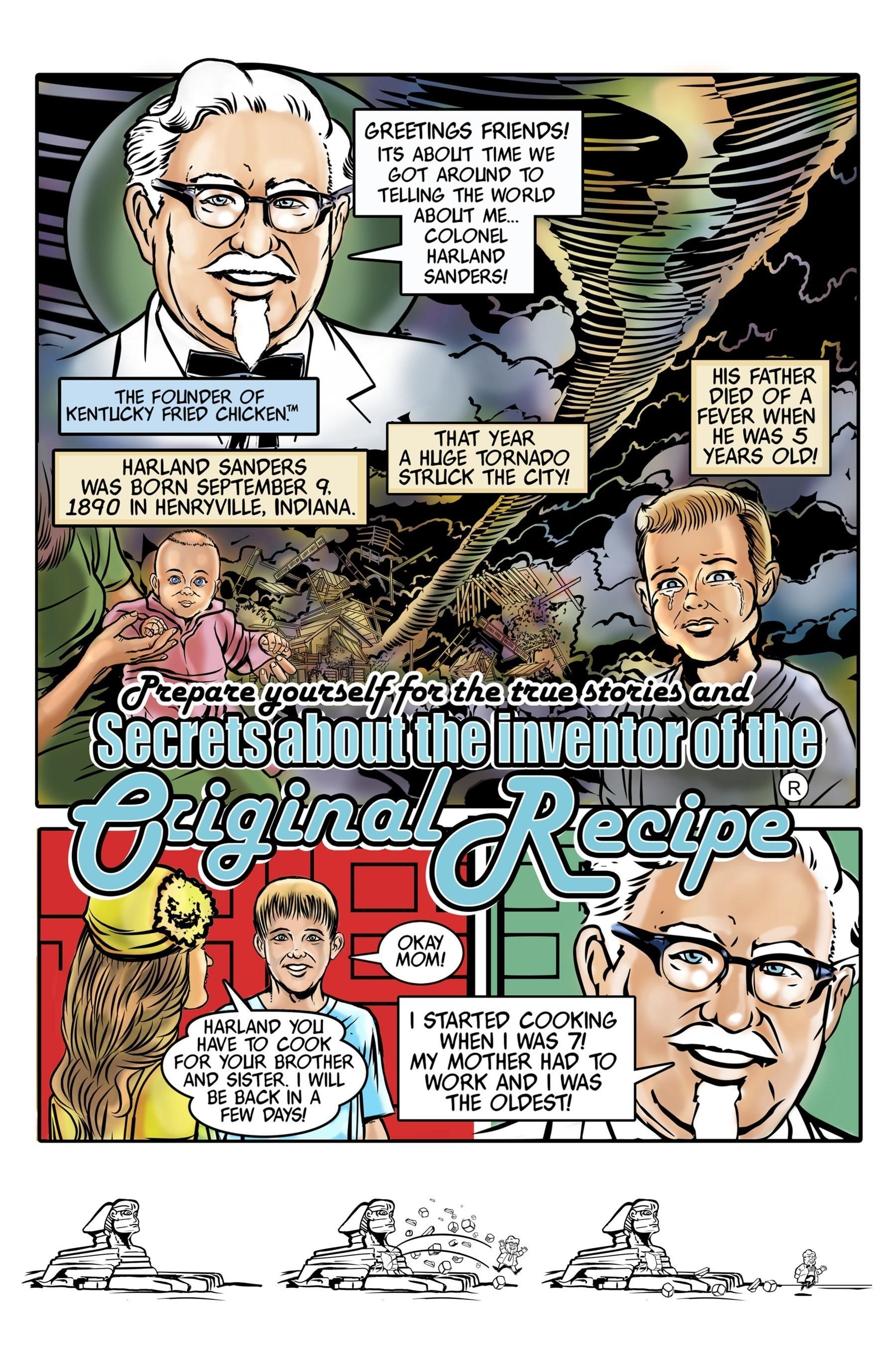 KFC Presents: The Colonel's Adventure Comics