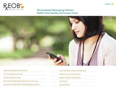 The latest white paper developed by RxEOB covers how personalized messaging can help health care providers, PBMs and insurers drive better care quality and lower costs.