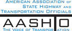American Association of State Highway and Transportation Officials Logo.  (PRNewsFoto/American Association of State Highway and Transportation Officials)