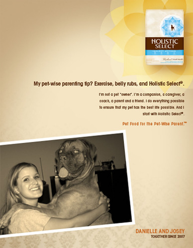 Holistic Select® Natural Pet Food Names Winner of Casting Call Contest