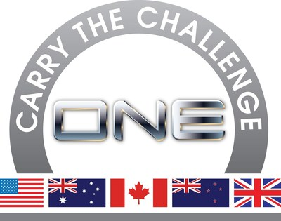 Carry the Challenge - ONE Campaign logo - a Veterans 360 Inc. Global Initiative. Changing today's young veterans narrative ONE positive act ONE veteran at a time.