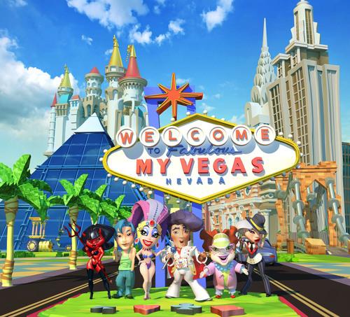 Welcome to myVEGAS!  (PRNewsFoto/PLAYSTUDIOS)