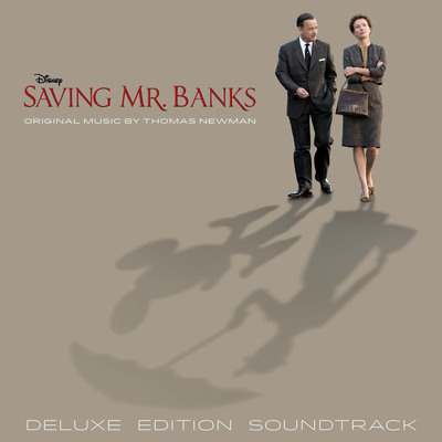 Saving Mr. Banks Soundtrack Deluxe Cover.  (PRNewsFoto/Walt Disney Records)