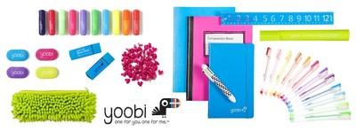 Yoobi supplies (available at yoobi.com) (PRNewsFoto/Yoobi)