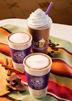 The Coffee Bean & Tea Leaf's Mexican Chocolate Ice Blended, Mexican Chocolate Latte, and Mexican Hot Chocolate