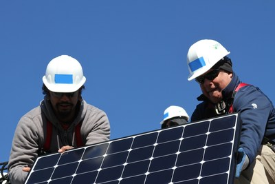 SunPower and GRID Alternatives Install Solar at Four Austin Homes