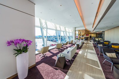Etihad Airways officially opened its new First and Business Class Lounge at New York's John F. Kennedy International Airport, which includes an exclusive premium space for guests of The Residence by Etihad(TM), a sculptural showcase bar and lounge and custom furnishings for guests to relax and enjoy.