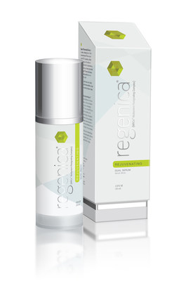 Regenica Rejuvenating Dual Serum is a revolutionary breakthrough in anti-aging skin care that delivers the most advanced and unique growth factor technology based on decades of research in regenerative science