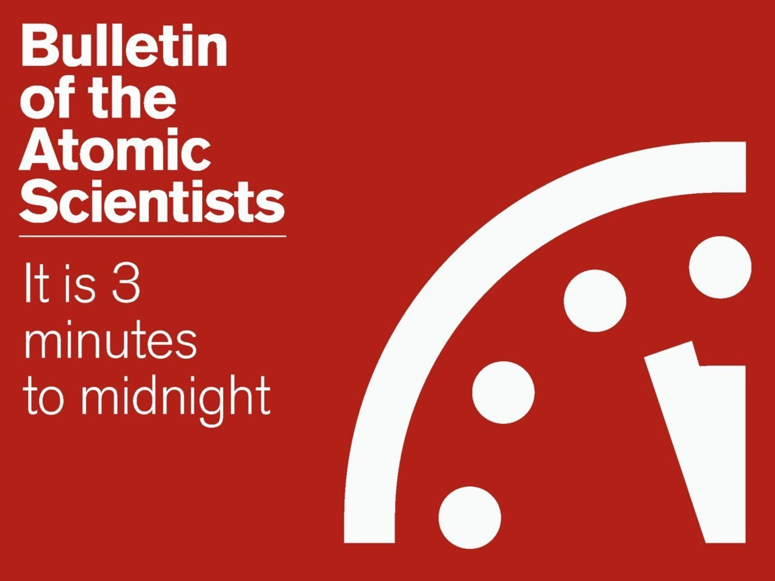 It Is 3 Minutes To Midnight - Climate Change And Nuclear Tensions Push Doomsday Clock Hands Forward