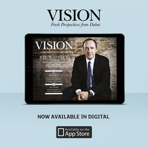 Vision magazine launches digital app (PRNewsFoto/Vision_ae)