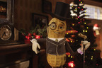 Mr. Peanut speaks for the first time: Look for Mr. Peanut on Facebook.  (PRNewsFoto/Kraft Planters)
