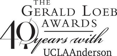 The Gerald Loeb Awards 40 Years With UCLA Anderson School of Management.  (PRNewsFoto/UCLA Anderson School of Management)