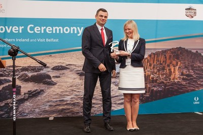 Routes Europe officially handed over to Belfast (PRNewsFoto/Routes)