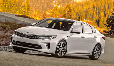 2016 Optima Best Buy of the Year among midsize cars according to Kelley Blue Book's KBB.com.