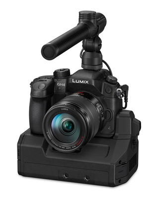 PANASONIC ANNOUNCES PRICING & AVAILABILITY FOR THE LUMIX GH4 DSLM WITH 4K VIDEO RECORDING CAPABILITIES.  (PRNewsFoto/Panasonic)