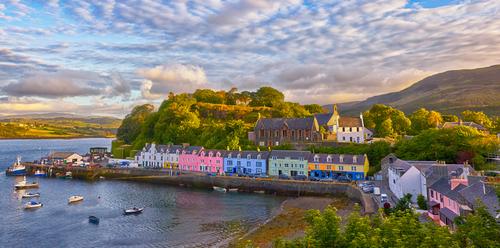 Portree, Isle of Skye, United Kingdom (PRNewsFoto/Crystal Cruises)