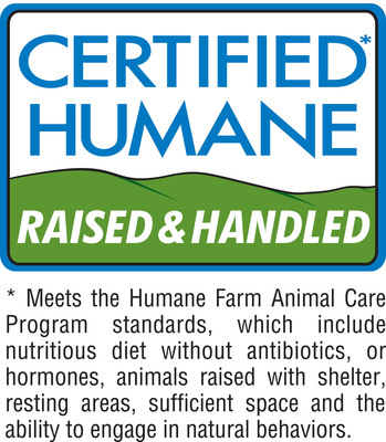 Look for the Certified Humane(R) seal on your turkey this Thanksgiving to ensure that your turkey was treated humanely from birth through slaughter.  (PRNewsFoto/Humane Farm Animal Care)