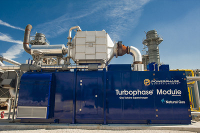 Turbophase Module at a power plant