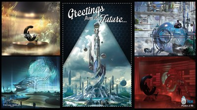 Landmark Entertainment Group introduces Virtual World's Fair(TM) - a virtual amusement park, and companion application, Pavilion of Me(TM) (P.O.M.(TM)) virtual reality portal.