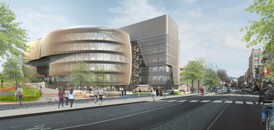 Northeastern University Integrated Science and Engineering Complex, Courtesy of Arup. Copyright Payette