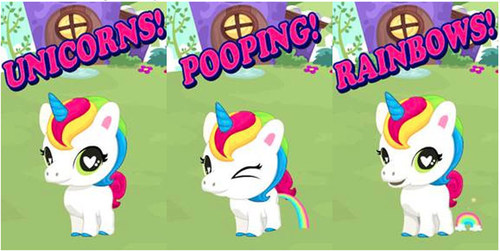 Poopsy Pets App is App-solutely Poop-tastic! Now available on iTunes App Store. (PRNewsFoto/MGA Entertainment)