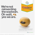 New creative to be featured in national advertising campaign promoting Credenz, Bayer CropScience's new soybean seed brand. (PRNewsFoto/Bayer CropScience)