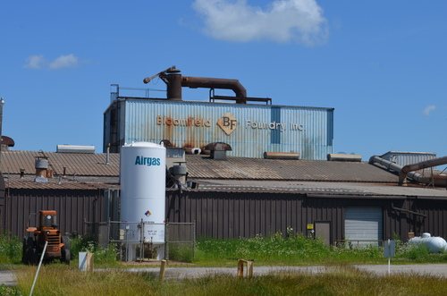 Bloomfield Foundry in Bloomfield, IA - Assets available in auction on July 24. (PRNewsFoto/Stuart B. Millner & ...
