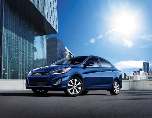 Hyundai Accent Keeps Building On A Proven Formula.  (PRNewsFoto/Hyundai Motor America)