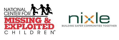 The National Center for Missing & Exploited Children has teamed up with public safety start-up Nixle to help law enforcement reunite missing kids with their families (PRNewsFoto/Nixle)