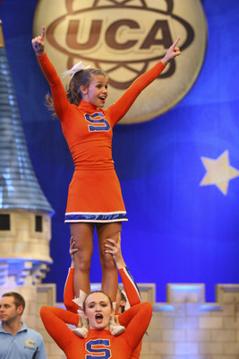 """American Cheerleader"" follows the journey of two high school cheerleading teams vying for the National High School Cheerleading Championship title."