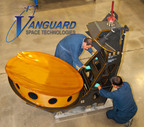 THAICOM Nadir Reflector produced by Vanguard Space Technologies.  (PRNewsFoto/Vanguard Space Technologies)