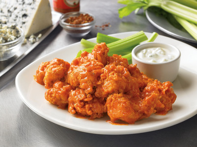 A Budget Deal That's Ready Now: Free Chicken Bites! This Thursday, Outback Steakhouse(R) is extending its own budget deal to America - a free Tassie Buffalo Chicken Bites appetizer. (PRNewsFoto/Outback Steakhouse) (PRNewsFoto/OUTBACK STEAKHOUSE)