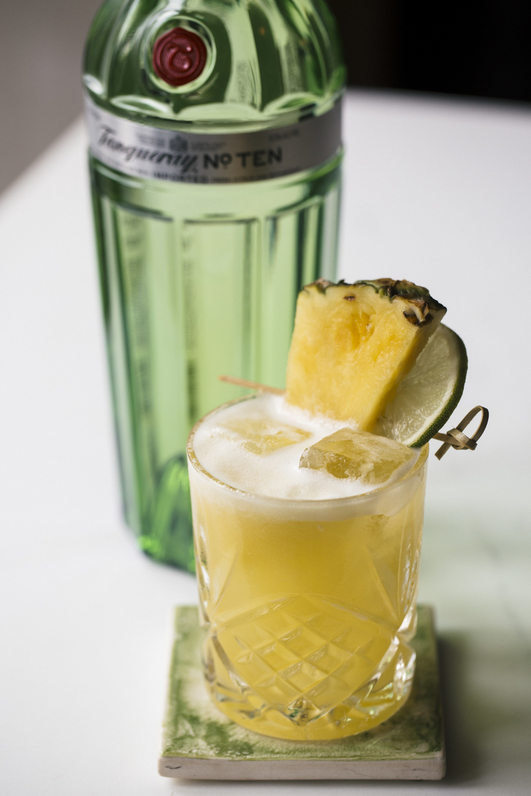 "Snoop Dogg unveils new signature cocktail, ""The Tanqueray No. TEN 'Laid Back'"""